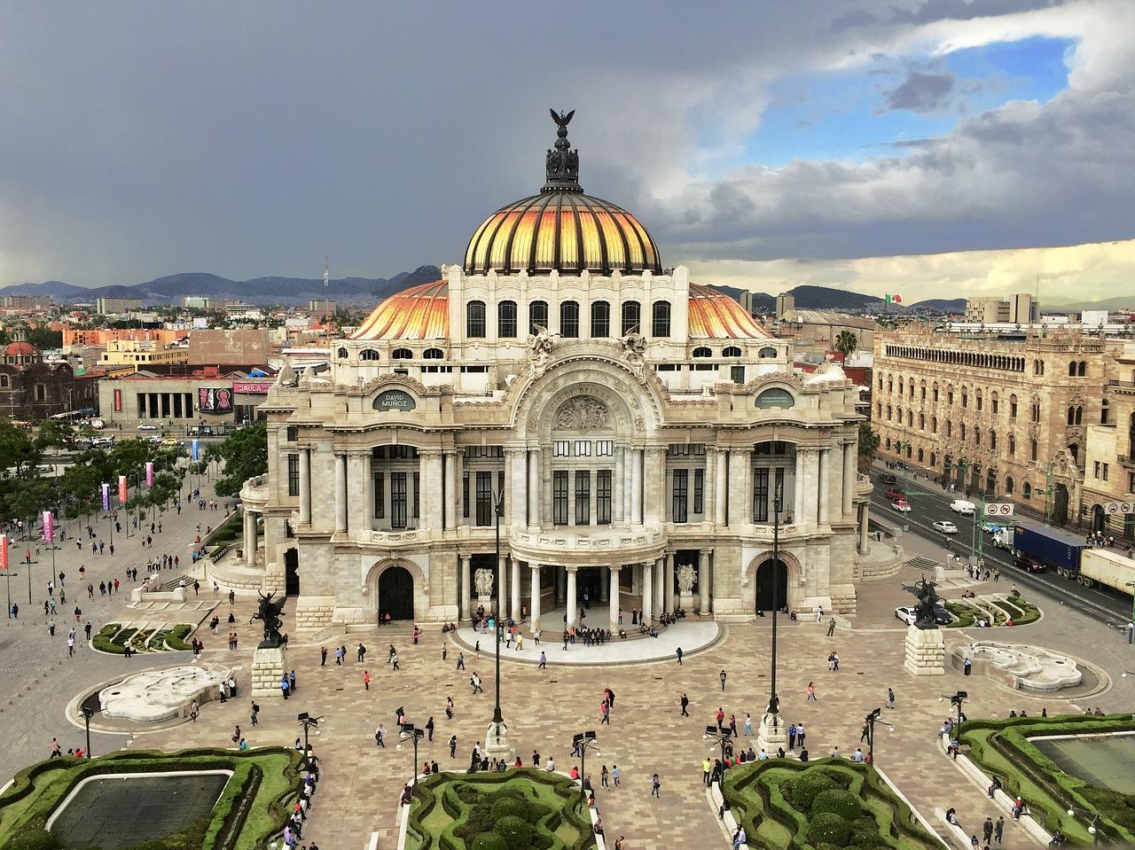Arts Mexico Cdmx Palace Of Fine Arts Viva Mexico